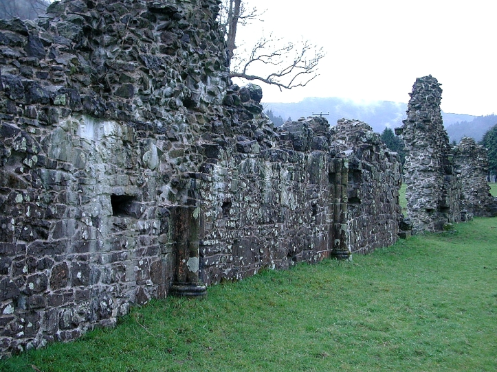 cwmhir ruined abbey